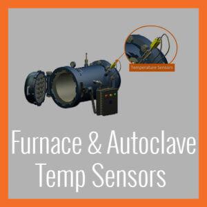 Temperature Sensors - Furnace & Autoclave