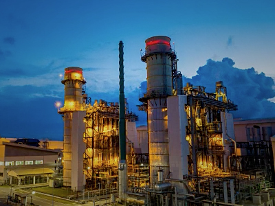 43 percent of U.S. power generation is from gas-fired power plants